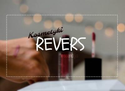 matowa pomadka w płynie | baza pod makijaż Revers