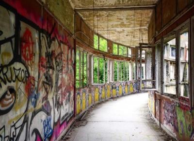Zjawy z kamienia czyli opuszczone sanatorium Aincourt | Architect of free time