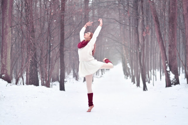 ArtCharlotte: Zimowa sesja taneczna
