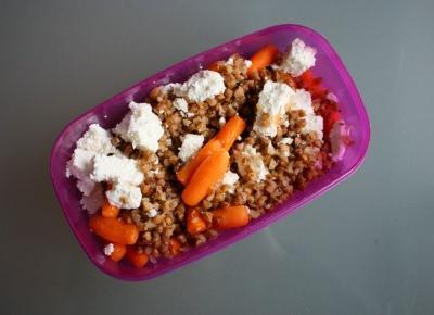 Lunch box - sałatka z kaszy gryczanej | Altruistka