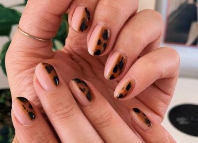 Tortoiseshell Manicure, czyli modne paznokcie na nowy sezon