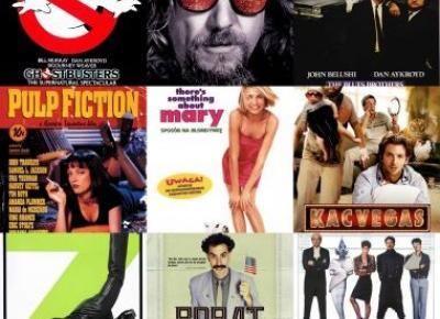 100 najlepszych komedii wszech czasów według BBC. Znacie je wszystkie?