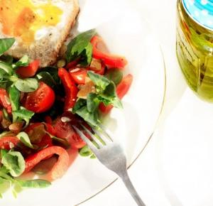 Sniadanie walentynkowe