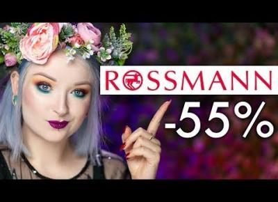 ROSSMANN - co warto kupić na nowej promocji -55%?