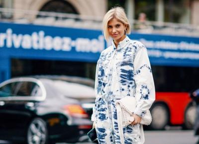 Trendy wiosna 2019: Ubrania i dodatki tie-dye, które musicie mieć w swojej szafie! - Glamour.pl
