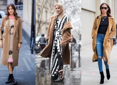 Jesienne stylizacje z płaszczem w roli głównej. Zainspirujcie się stylem gwiazd - Glamour.pl