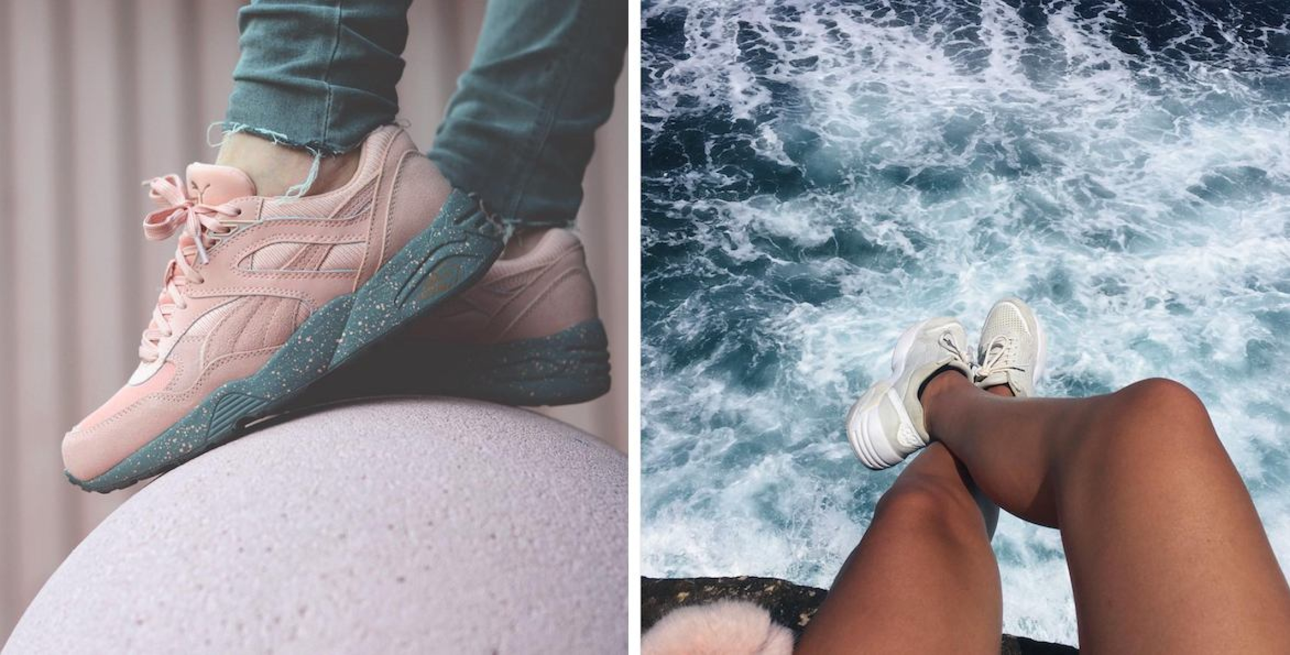 Sneaker girls.