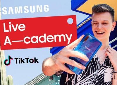 Jak być dobrym TikTokerem? Rusza Samsung Live A-Cademy z Dominikiem Rupińskim!