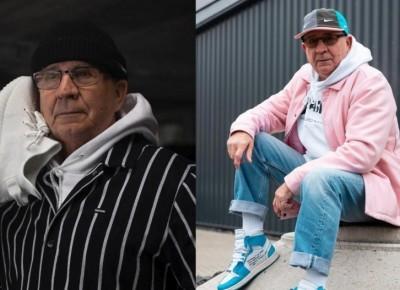 """""""Nie jestem za stary, żeby nosić się w Supreme"""" . Ten 73-latek ubiera się lepiej niż Ty!"""