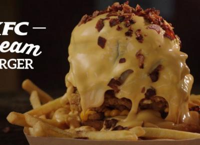 """Internauci o Dream Burger z KFC: """"wygląda ohydnie!"""""""