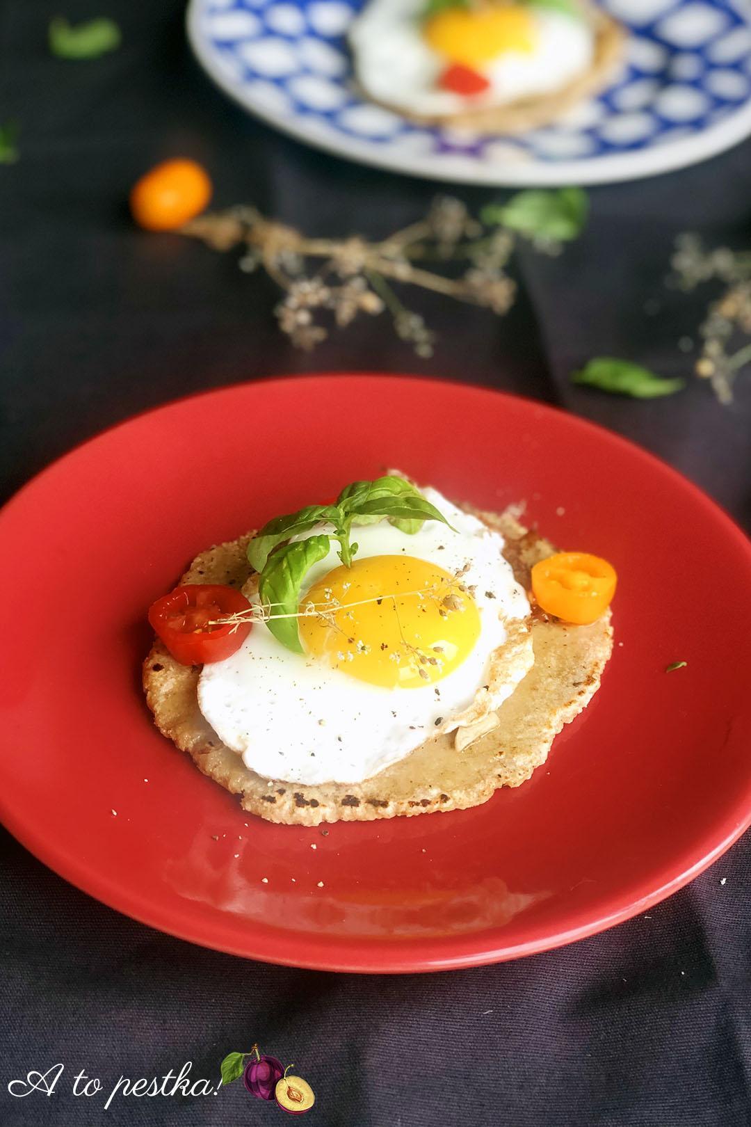 Domowe podpłomyki - fit śniadanie na słono - A to pestka!