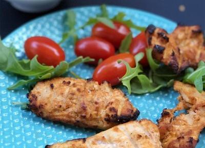 Pieczona pierś kurczaka z domowym pesto