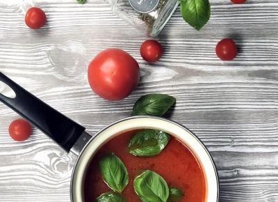 Domowy sos ze świeżych pomidorów - A to pestka!