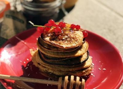 Fit pancakes na bazie płatków owsianych