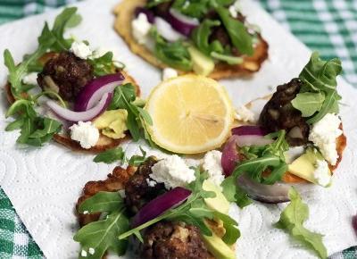 Zdrowy obiad - kotleciki z awokado i serem feta - A to pestka!