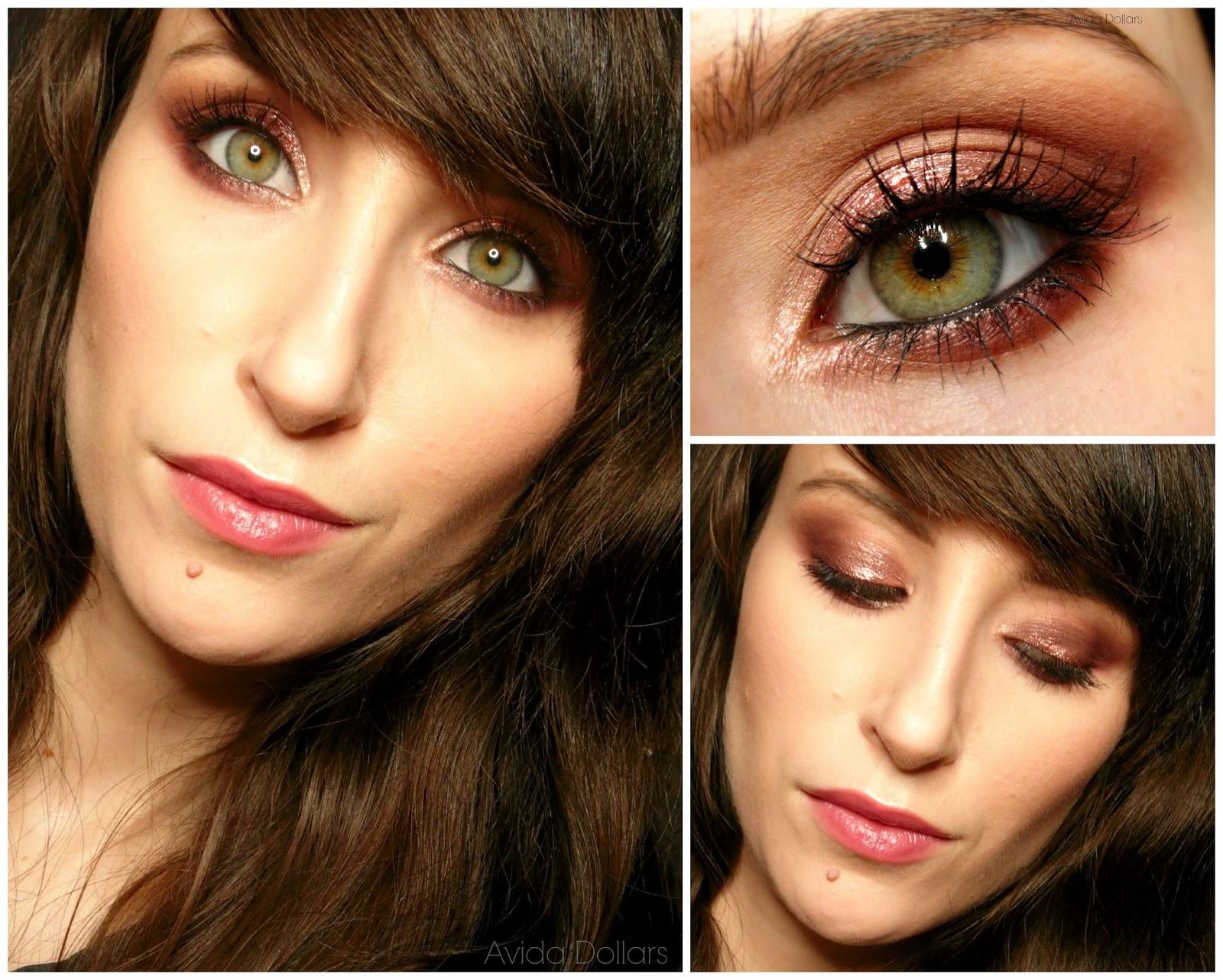 Avida Dollars Blog: Makijaż z instrukcją krok po kroku: Jesień w kolorze wina | Too Faced Chocolate Bar