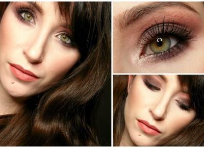 Avida Dollars Blog: Makijaż krok po kroku | Sexy smoky wykonane cieniami marki Bikor | Bikor MOROCCO Precious 4 shadows Marry Me