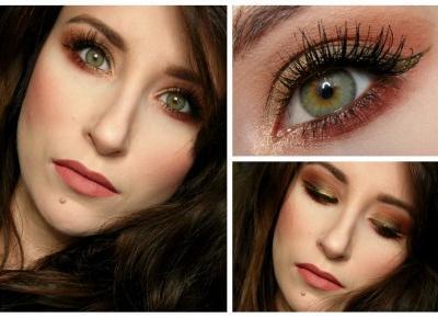 Avida Dollars Blog: Makijaż w kolorach jesieni: Khaki z dodatkiem rdzy #fallmakeup