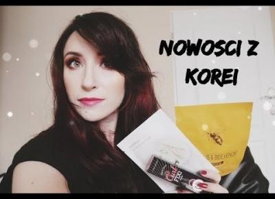 NOWOŚCI Z KOREI | Zakupy z Jolse | The Saem, Skinfood, Etude House