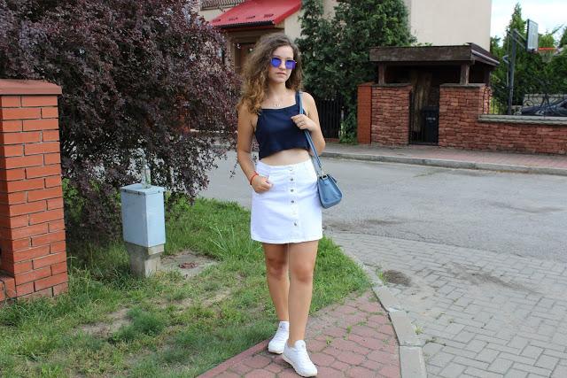 AwesomeMila Style : white skirt