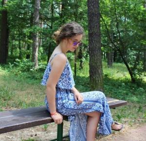 AwesomeMila Style : boho maxi dress