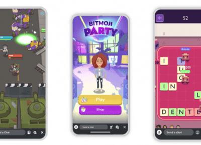 Snapchat wprowadza gry zintegrowane z Bitmoji - Tech-Spec.pl
