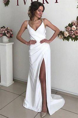einfache abendkleider ruckenfrei  elegantes weises kleid lang  babyonlinewholesale