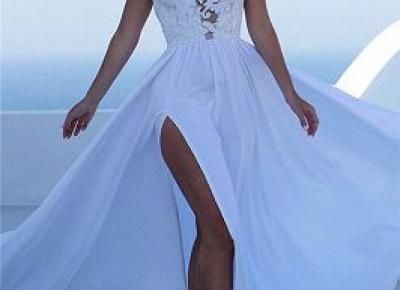 Elegante Brautkleider Sommer | Gunstige Hochzeitskleider Online Kaufen | www.babyonlinewholesale.com