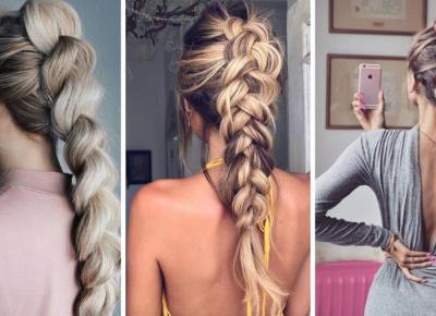 Oszukany warkocz, czyli idealna fryzura do pracy i na imprezę