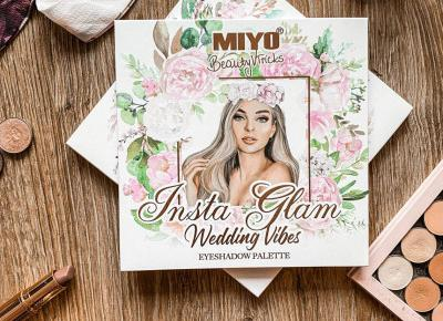Recenzja paletki Miyo x Beauty v Tricks – Insta Glam Wedding Vibes + ROZDANIE! – Badhairway.pl – travel, beauty & lifestyle