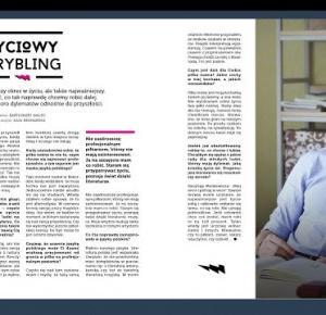 Życiowy drybling- Wywiad z Mateuszem Żyłą ~ My life is my only love.