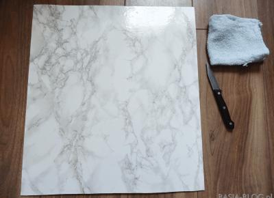 DIY marmurowe tło do zdjęć (i nie tylko!) | BASIA-BLOG.pl