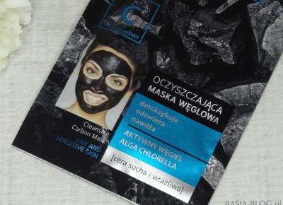 Oczyszczające maski węglowe bez węgla w składzie?! Bielenda, Conny | węgiel w kapsułkach | BASIA-BLOG.pl