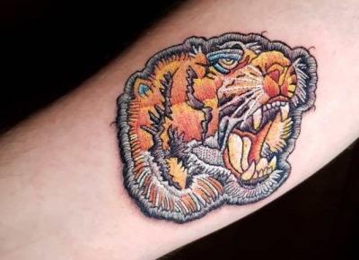Haftowane tatuaże - tradycja i nowoczesność na naszym ciele