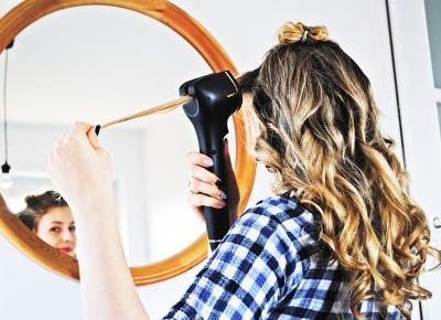 BeautypediaPatt | blog urodowy: Jak łatwo skręcić swoje włosy? Automatyczna lokówka Philips ProCare Auto Curler