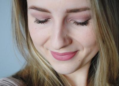BeautypediaPatt | blog urodowy: Makijaż dzienny w odcieniach pudrowego różu