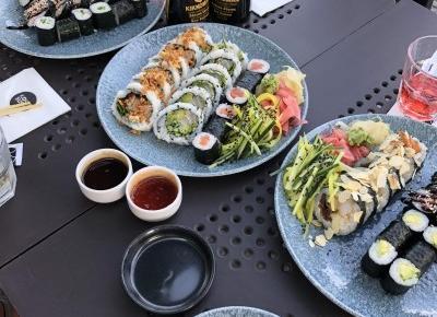 Ania Baczewska on Instagram: ?#sushitime #sushi? #sushi #sushirolls #friendstime?
