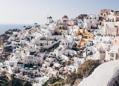 Najlepsze instagramowe miejsca na Santorini.
