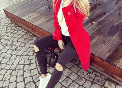 ASFASHION: RED COAT