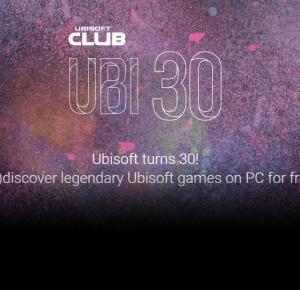 Darmowe gry na 30-lecie Ubisoftu – BEmpire