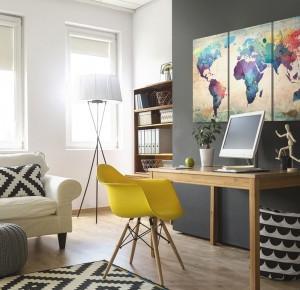 Jak urządzić biuro lub miejsce do nauki w domu? - Blog bimago.pl