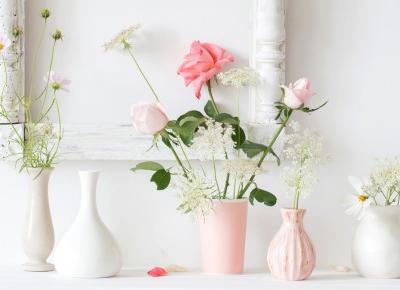 Jak przedłużyć trwałość ciętych kwiatów w wazonie? - Blog bimago.pl