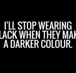 FUCKIN BLOG: Czarno to widzę.