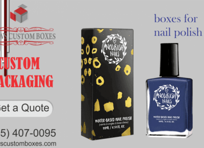 Boost Your Sale with Modish Boxes for Nail Polish