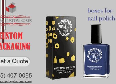 Select The Custom Boxes for Nail Polish Boxes