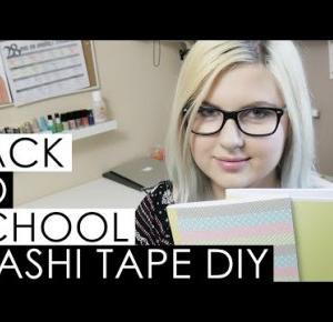 BACK TO SCHOOL 2016: WASHI TAPE DIY | Blogodynka