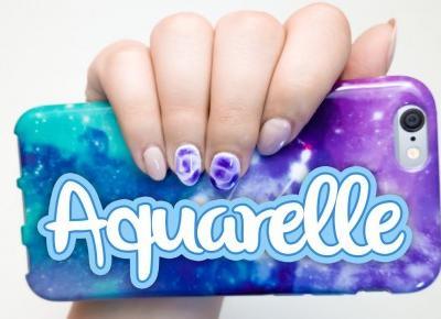 NeoNail Aquarelle - pierwsze zdobienie [TEST NA ŻYWO] | Blogodynka.pl