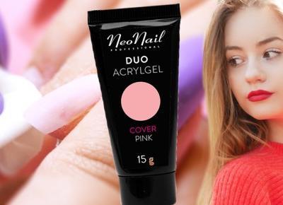 Recenzja NeoNail Duo Acrylgel | Blogodynka.pl