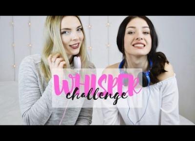 WHISPER CHALLENGE | blonde&brunette