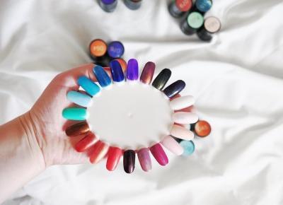 Manicure hybrydowy. Hybrydy Aliexpress. Color Tale cz.2